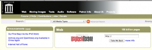 Archive.org or WaybackMachine
