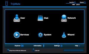 HooToo Tripmate Config Screen