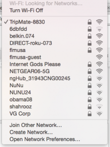 list of wireless